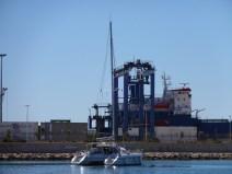 Abfahrt in Alicante