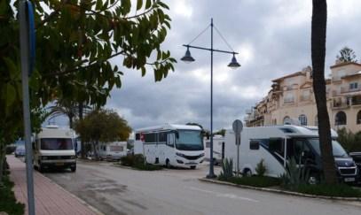 Parkplatz in Estepona