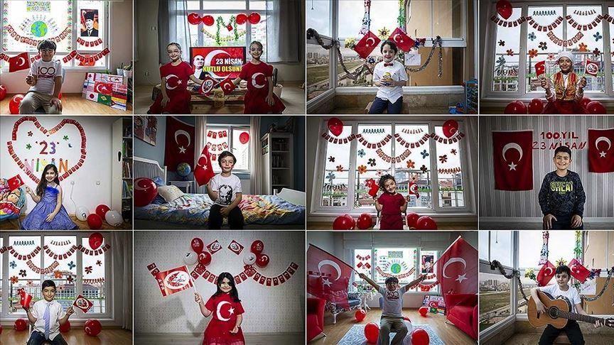 الشرطة التركية تجوب شوارع إسطنبول محمّلة بهدايا الأطفال