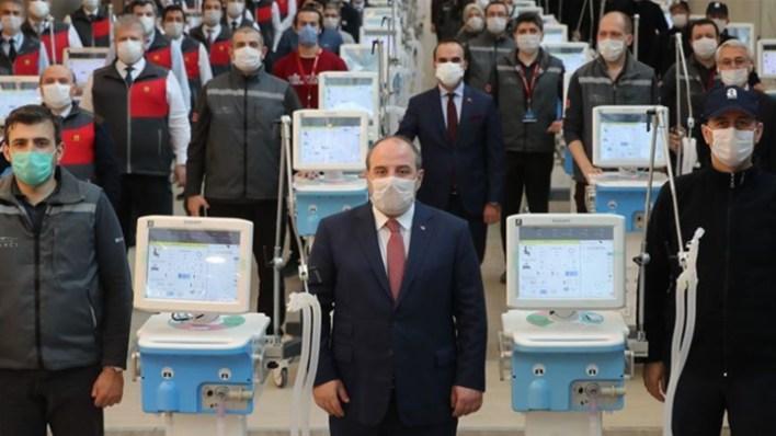 بإمكانيات محلية.. تركيا تبدأ بإنتاج أجهزة تنفس صناعي