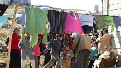 صورة تحذير من تداعيات قرار بإزالة مخيم للاجئين السوريين بالقوة غربي لبنان