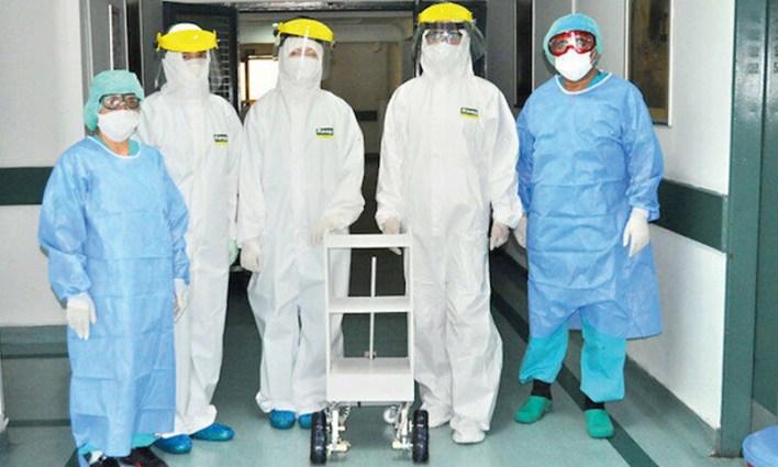 روبوت تركي لحماية الكوادر الطبية