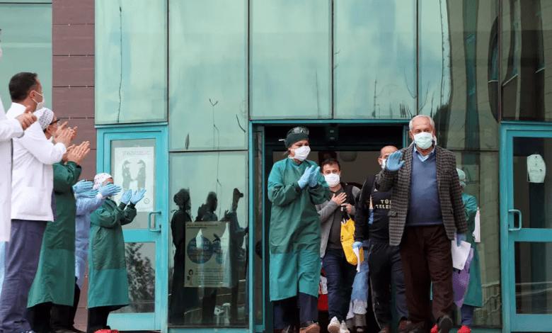 المتعافين من كورونا يتجاوز عدد المصابين في تركيا - لليوم الثاني على التوالي .. عدد المتعافين من كورونا يتجاوز عدد المصابين في تركيا