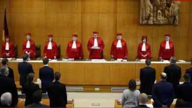 صورة أول محاكمة عالمياً لضباط بنظام الأسد في المانيا.
