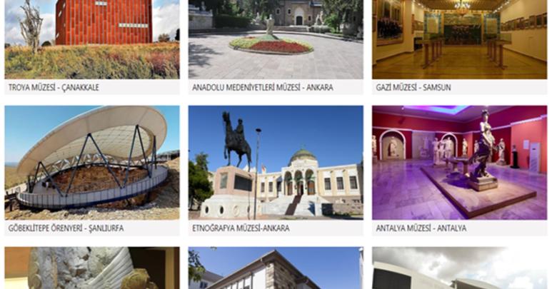 إلكتروني لزيارة المتاحف افتراضيا في تركيا 1 -  موقع إلكتروني لزيارة المتاحف افتراضيا في تركيا