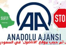 "Photo of هل تم حجب موقع ""الاناضول"" في السعودية (ناشطون وإعلاميون)"
