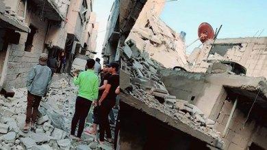 صورة مقتل 3 مدنيين في غارة جوية إسرائيلية في هذه المناطق بدمشق