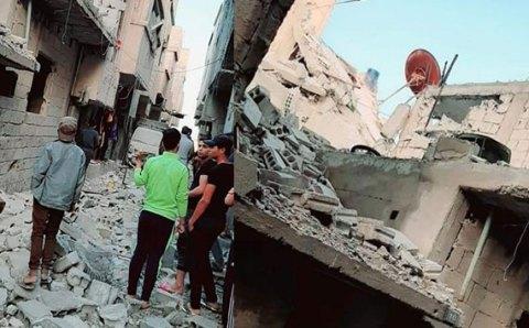 مقتل 3 مدنيين في غارة جوية إسرائيلية في هذه المناطق بدمشق