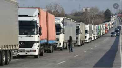 صورة وزارة التجارة التركية.. رفع جزئي لقيود نقل البضائع عبر الحدود البرية