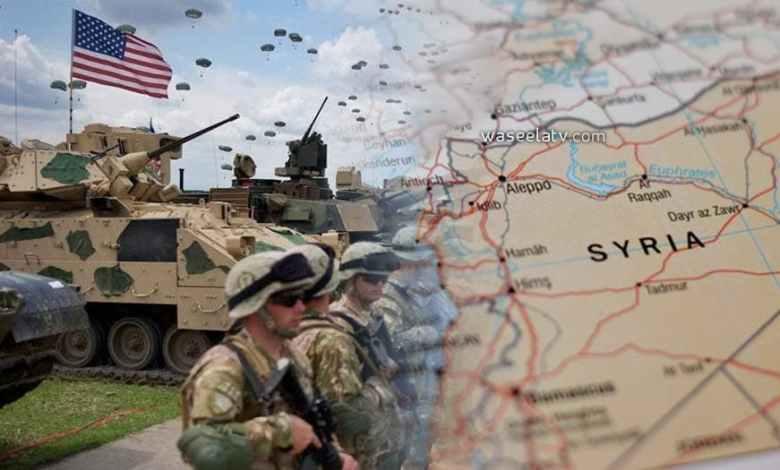جيش امريكي سوريا خريطة امريكا - بدعم امريكي ... تشكيل جيش جديد في سوريا