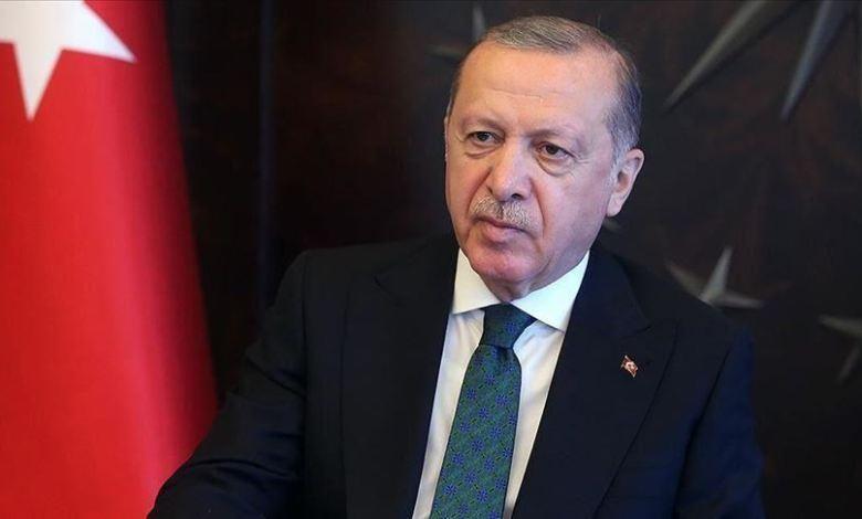التركي رجب طيب أردوغان - الحزن يفطر قلب الرئيس التركي رجب طيب أردوغان