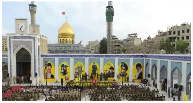 زينب - كورونا يفجر الصرااع بين نظام الأسد وميليـشيات إيران في منطقة السيدة زينب بدمشق