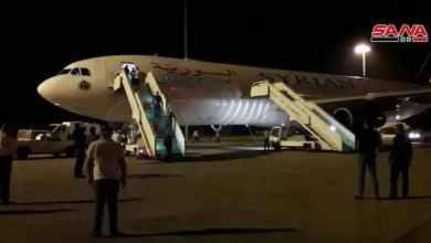 صورة ماسبب هبوط طائرة.. من الإمارات إلى دمشق في منتصف الليل