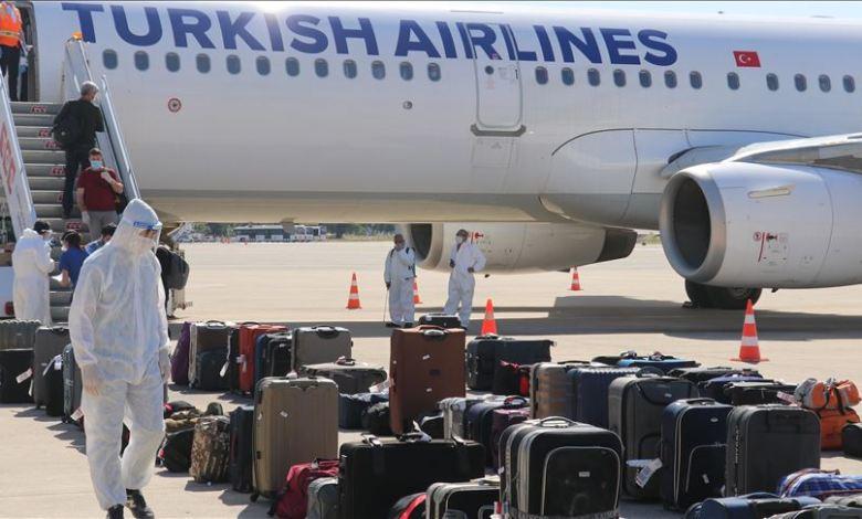 تجلي 180 مواطنا من العراق - تركيا تجلي مواطنيها من العراق بعد ماكانو عالقين