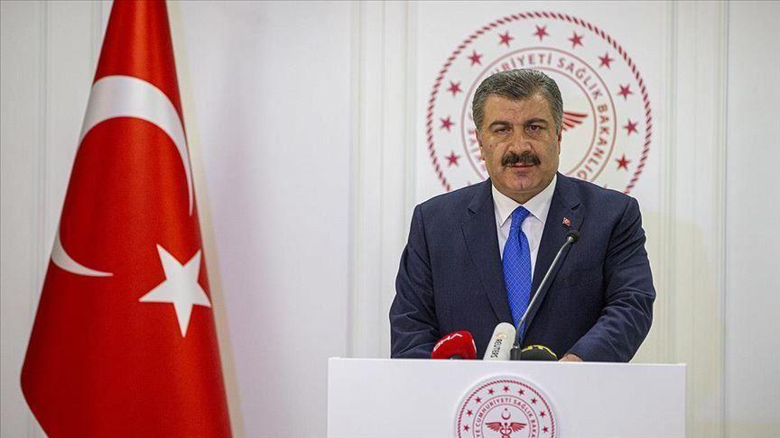 وزير الصحة التركي فخر الدين قوجة تركيا.. حصيلة متعافي كورونا تقترب من 110 آلاف