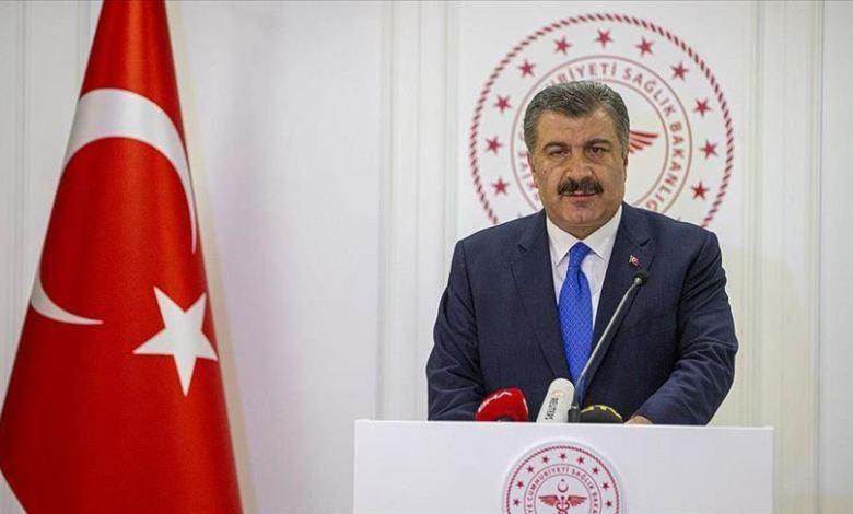 الدين قوجة - وزير الصحة التركي فخر الدين قوجة تركيا.. حصيلة متعافي كورونا تقترب من 110 آلاف