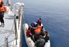 صورة خفر السواحل التركي ينقذ 24 لاجئ في بحر إيجه