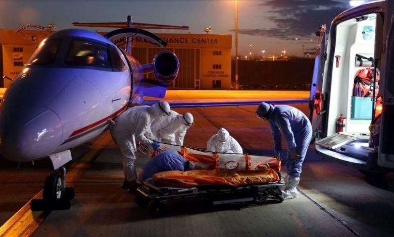 0c911ca0329f42428ecc3e84d3d89e2a - طائرة إسعاف تركية تجلب مواطنا مصابا بكورونا من السودان.