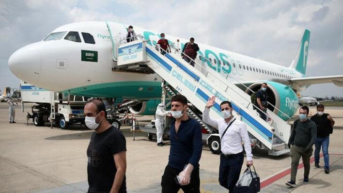 أجلت السلطات التركية، الخميس، 168 من رعاياها العالقين في السعودية