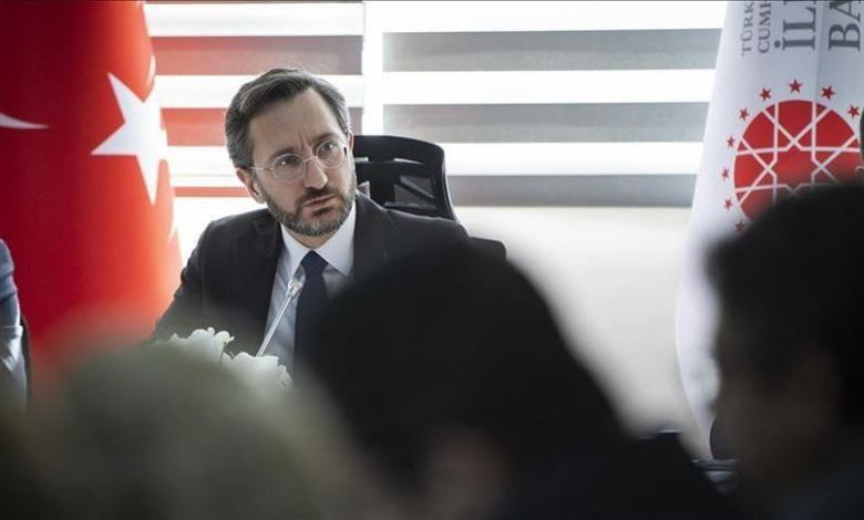 رئيس دائرة الاتصال في الرئاسة التركية فخر الدين ألطون