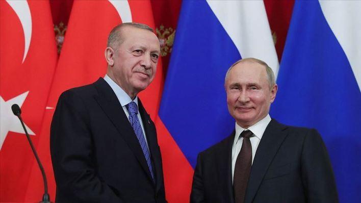 وبوتين - في اتصال هاتفي بينهما.. أردوغان وبوتين يبحثان التطورات في ليبيا وإدلب السورية
