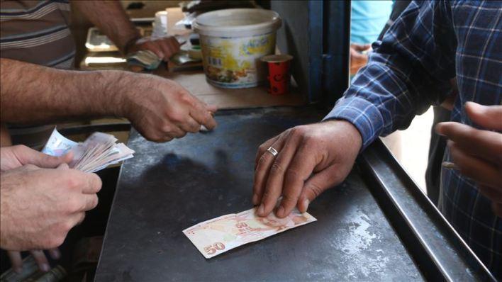 التركية في إدلب  - الليرة التركية تنعش أسواق إدلب السورية