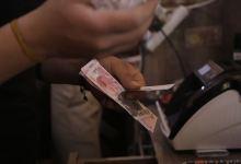 صورة بدء تداول الليرة التركية في إدلب السورية