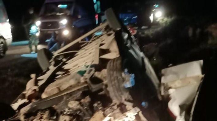 .jpg - قتـيل وأكثر من 40 جريـح جراء انقـلاب شاحنة تقل اللاجئين في ولاية فان