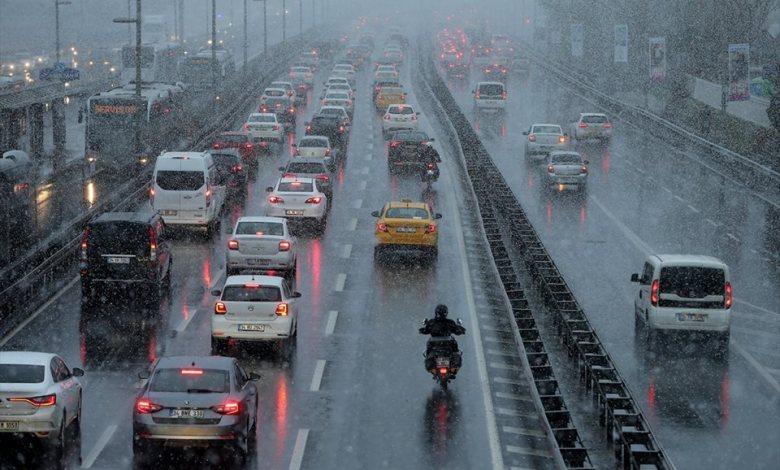 الجوية  - تركيا :الأرصاد الجوية تحذر من العواصف الرعدية في هذه المناطق