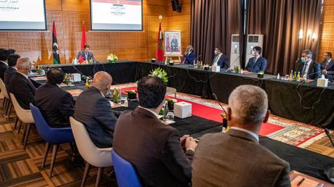 """ترقُّب لـ""""أخبار إيجابية"""" مع انطلاق ثالث أيام الحوار الليبي بالمغرب"""