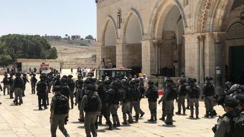 1600277164 3808522 1450 816 7 4 - إصرار إسرائيل على الاقتحامات يُبقي الأقصى مفتوحاً رغم كورونا