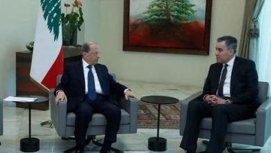 """صورة لبنان.. أديب يتفق مع عون على """"التريث"""" بتشكيل الحكومة"""
