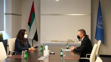 صورة مندوبا الإمارات وإسرائيل بالأمم المتحدة يتفقان على مكافحة التطرف
