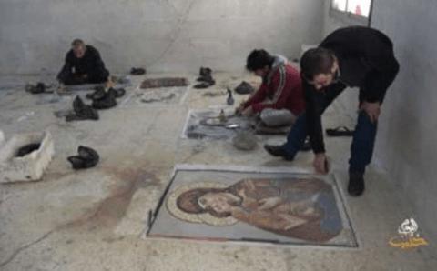 أحمد الداني فنان سوري….. تنطق حجارته جمالاً وإبداعاً