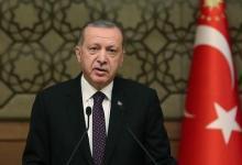 صورة أردوغان يعزّي الكويت في وفاة أميرها
