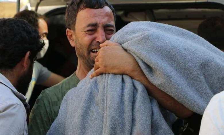 2 - وفاة طفلتين من عائلة واحدة غرقاً في نهر العاصي غرب إدلب