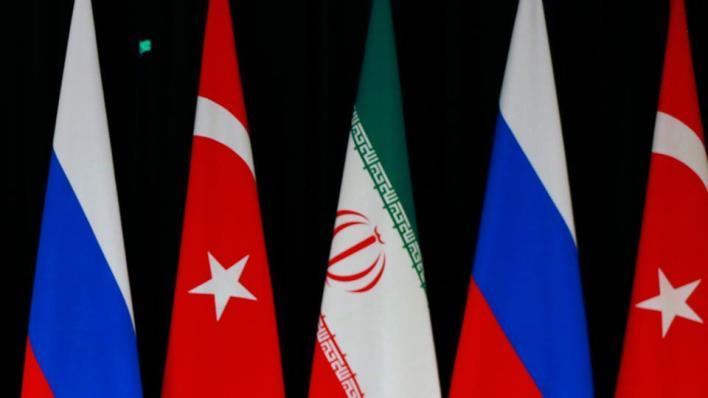 تهدف تركيا وروسيا وإيران عبر مسار أستانا للسلام, إلى التوصل إلى حل سياسي يضم كل الأطراف في سوريا