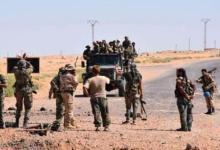 صورة اشتباكات مسلحة بين ميليشيات الأسد في دير الزور