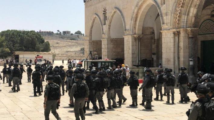 3808522 1450 816 7 4 - إصرار إسرائيل على الاقتحامات يُبقي الأقصى مفتوحاً رغم كورونا