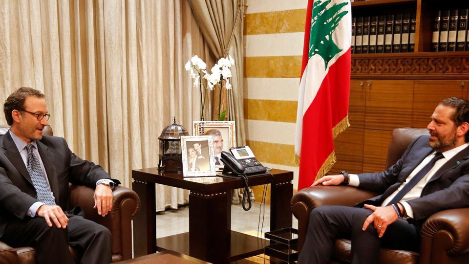 قال شنكر إنه يأمل أن يتمكن من القدوم إلى لبنان ثم توقيع هذه الاتفاقية في الأسابيع المقبلة