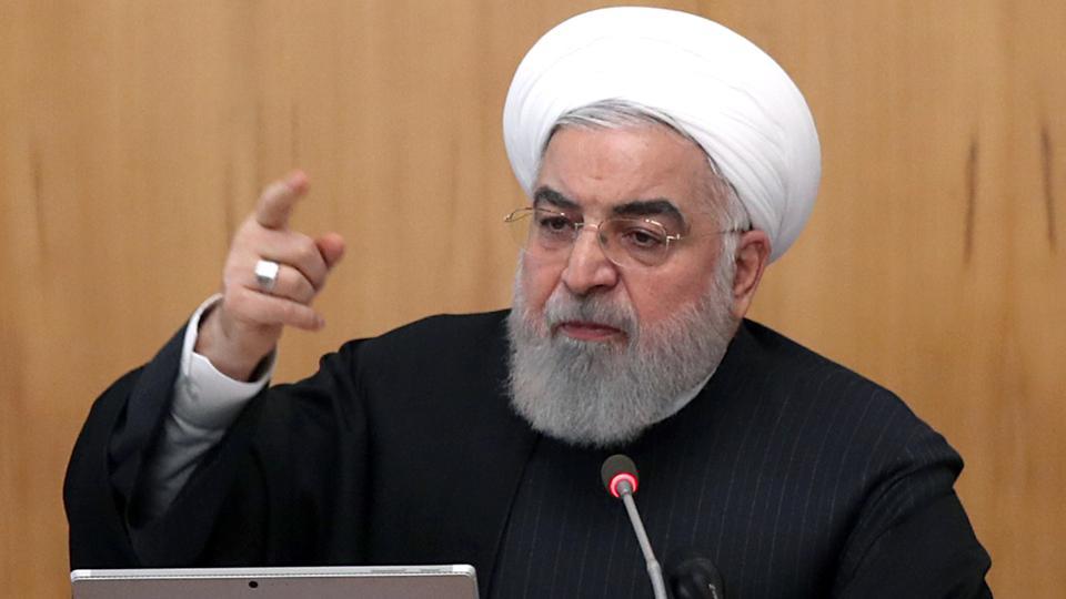 الرئيس الإيراني حسن روحاني يقول إنبلاده تتعرض لعقوبات اقتصادية قل نظيرها في تاريخ العالم