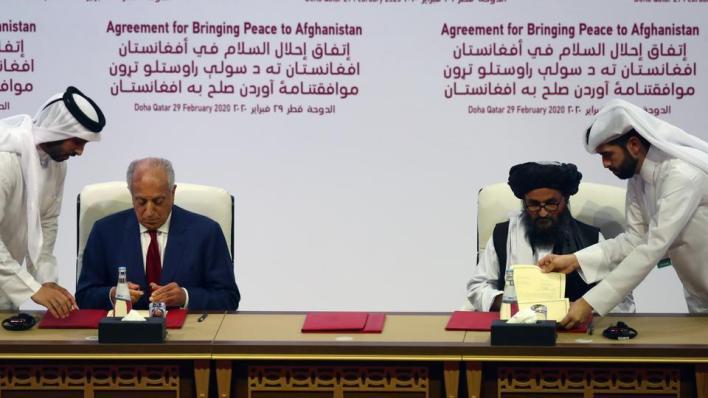 """6772523 5417 3050 10 5 - الحكومة الأفغانية و""""طالبان"""" على طاولة المفاوضات مجدداً"""