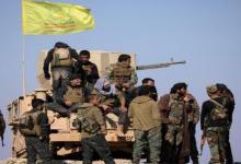 """صورة حاجز لـ""""قسد"""" يتعرض لهجوم من نوع مختلف شرقي سوريا"""