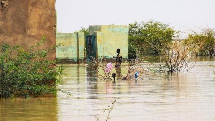 خلفت الفيضانات في السودان أكثر من 100 قتيل، في حين تضرر أكثر من نصف مليون شخص، و43 مدرسة و2671 مرفقاً صحياً