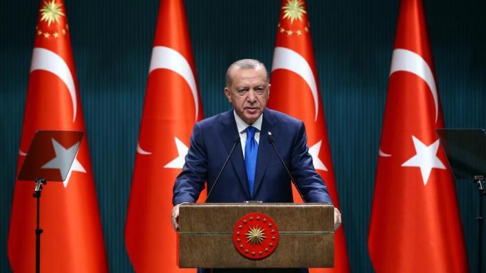 الرئيس التركي أعرب عن أمله في تلقِّي أنباء سارة جديدة من البحرين الأسود والمتوسط فيما يتعلق باكتشافات الغاز والنفط