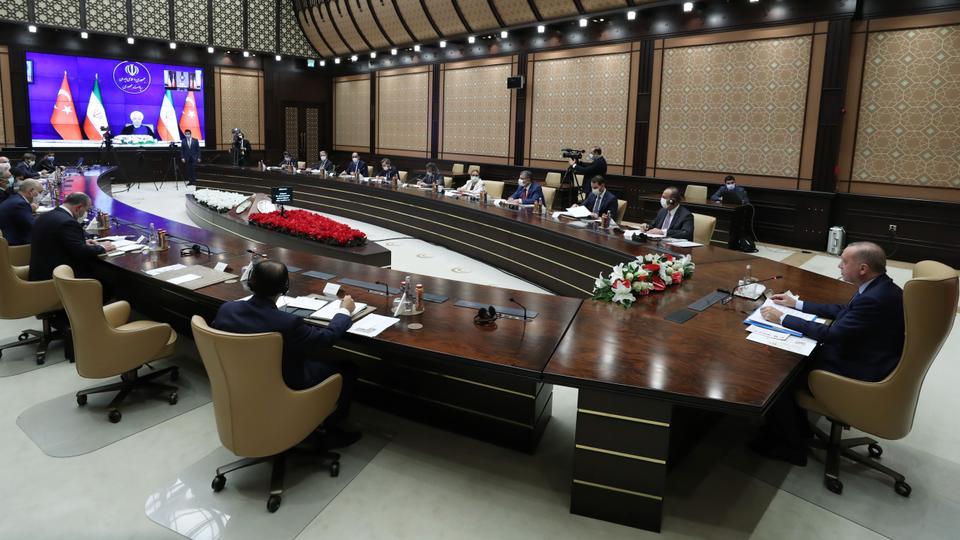 أردوغان يؤكد أن الحوار التركي-الإيراني يلعب دوراً حاسماً في حل العديد من المشاكل الإقليمية