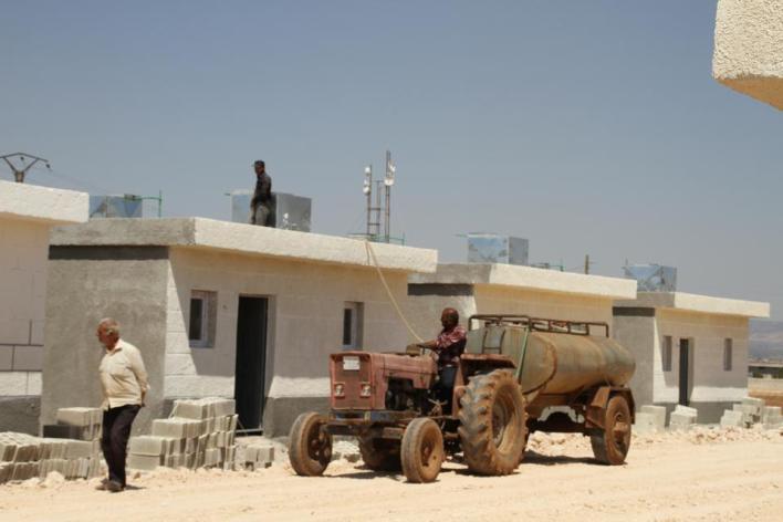 مشروع بناء منازل للأرامل من قبل منظمة IHH