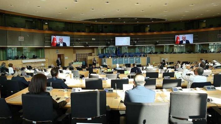جاوش أوغلو يقول إن تركيا ترى موقف الاتحاد الأوروبي من شرق البحر المتوسط غير عادل ولا يتوافق مع القانون الدولي