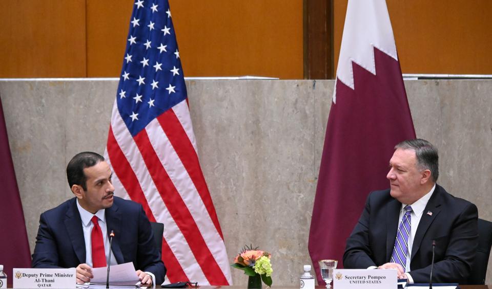 قطر أعربت عن امتنانها للولايات المتحدة لدعمها للوساطة الكويتية لحل الأزمة الخليجية المستمر