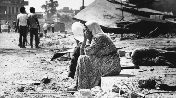 الفلسطينيون يحيون ذكرى مجزرة صبرا وشاتيلا